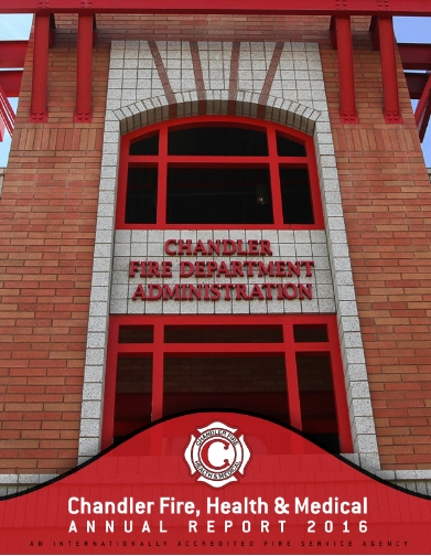 City of Chandler Fire Department Annual Report 2016