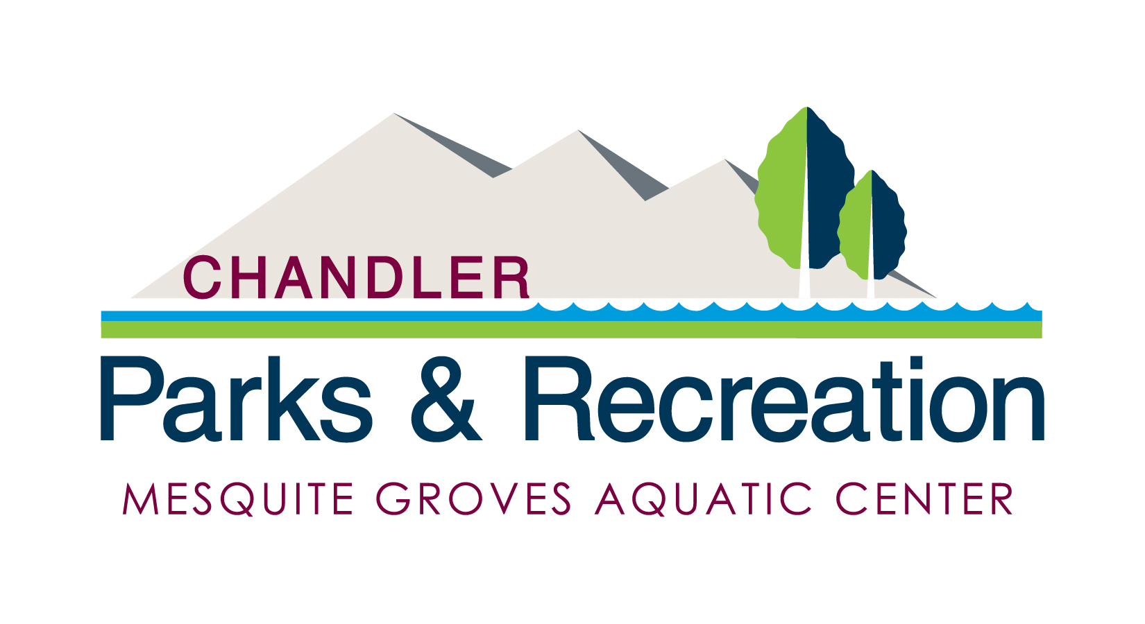 Mesquite Groves Aquatic Center Logo