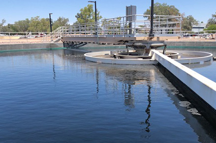 A reclaimed water facility in Chandler ​