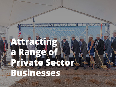 Attracting a Range of Private Sector Businesses