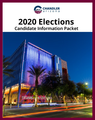 City of Chandler 2020 Candidate Elections Booklet Cover