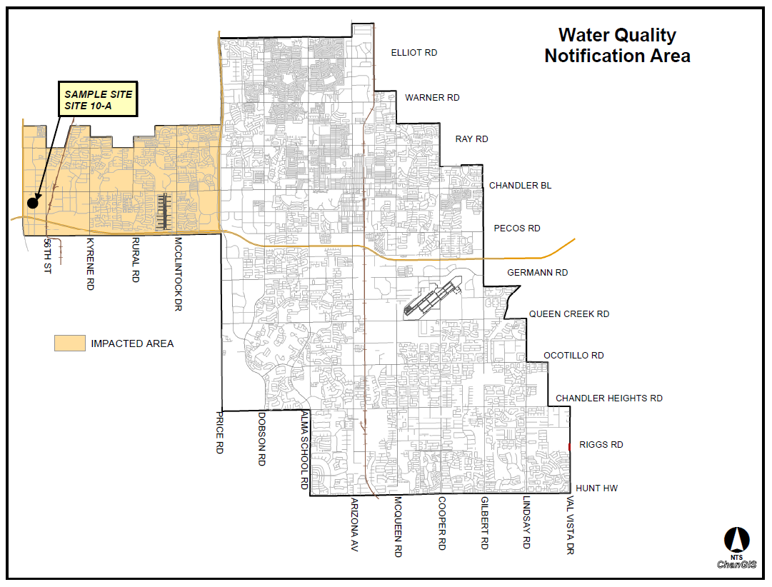 City of Chandler TTHM Water Quality Notification