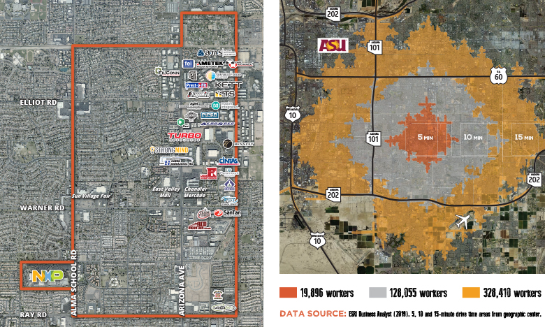 Uptown Chandler Maps