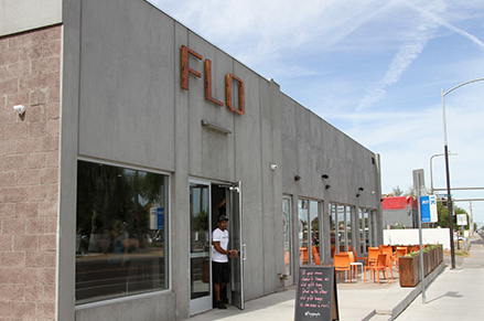 Eddie Davis and his wife, Debbie, opened Flo Yoga and Cycle in Downtown Chandler in 2017.