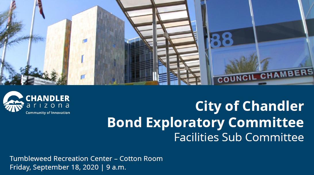 Facilities Bond Subcommittee Presentation