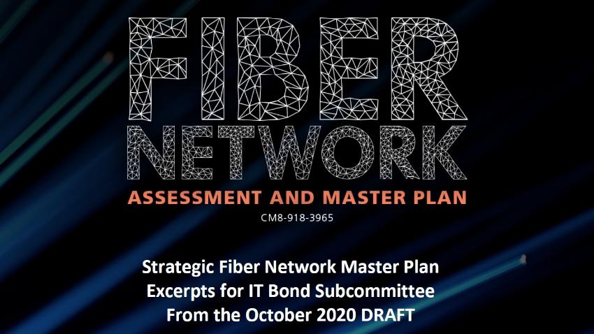 Fiber Network Assessment and Master Plan