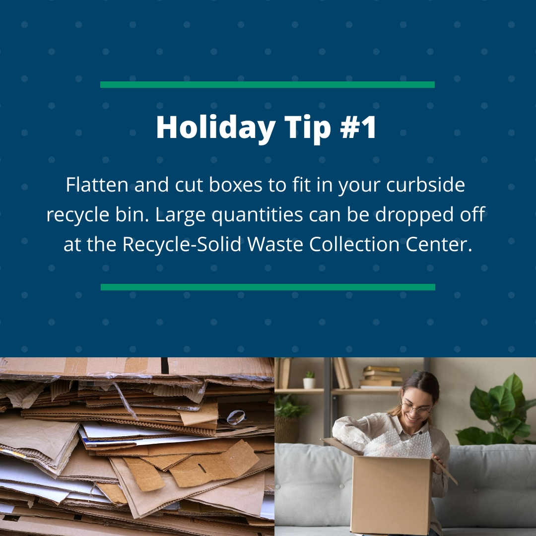 Holiday Tip #1
