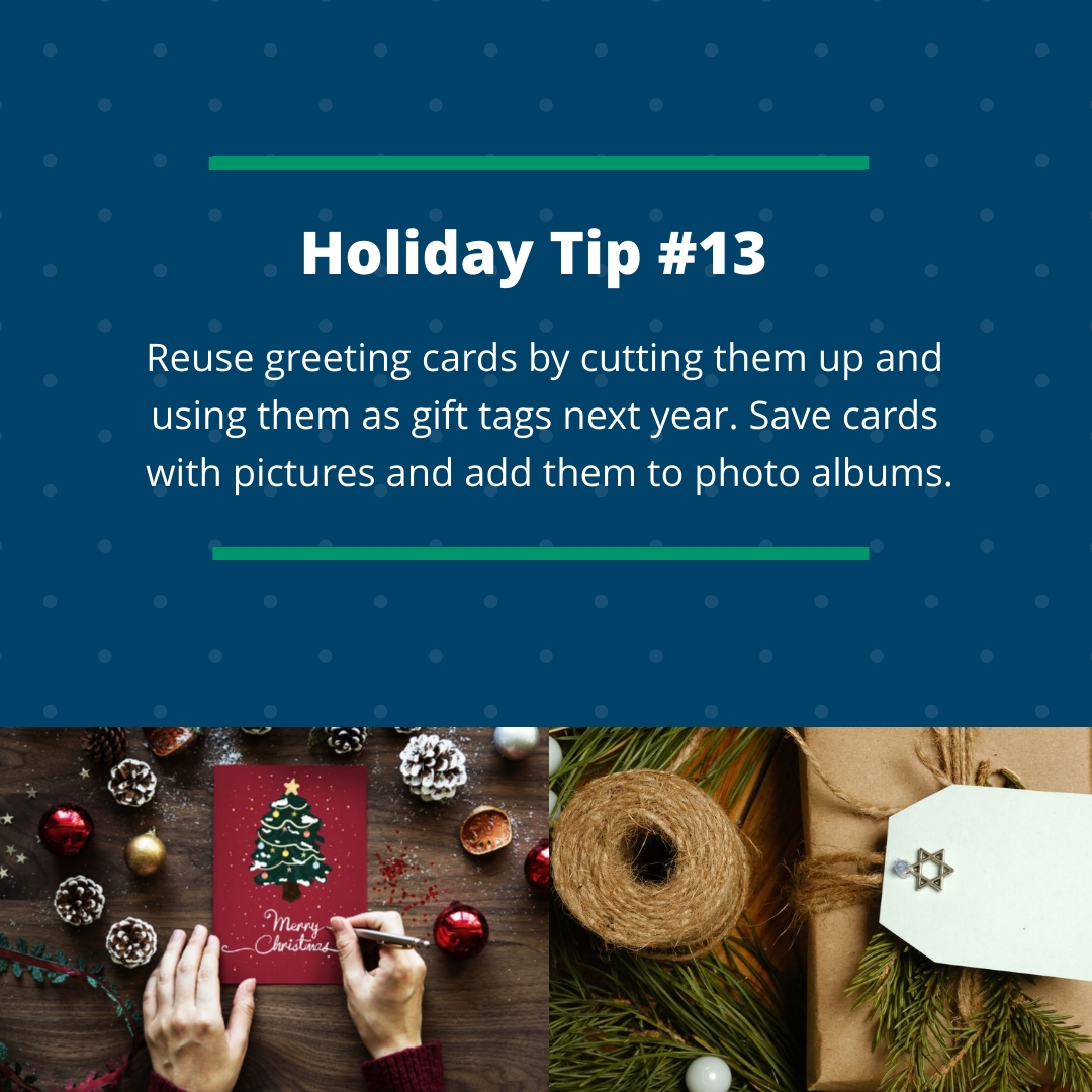 Holiday Tip #13