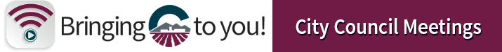 Council Meetings Banner