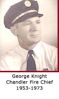 Former Chandler Fire Chief George Knight