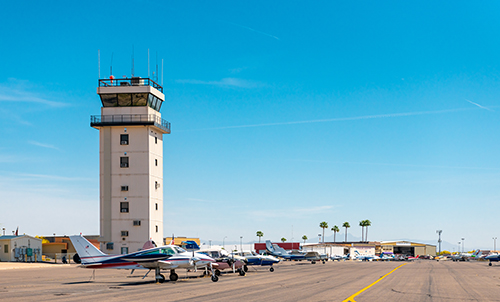 Chandler's Air Traffic Control Tower