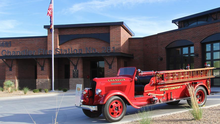 "Chandler Fire Engine ""The Old Dodge"" 1936"
