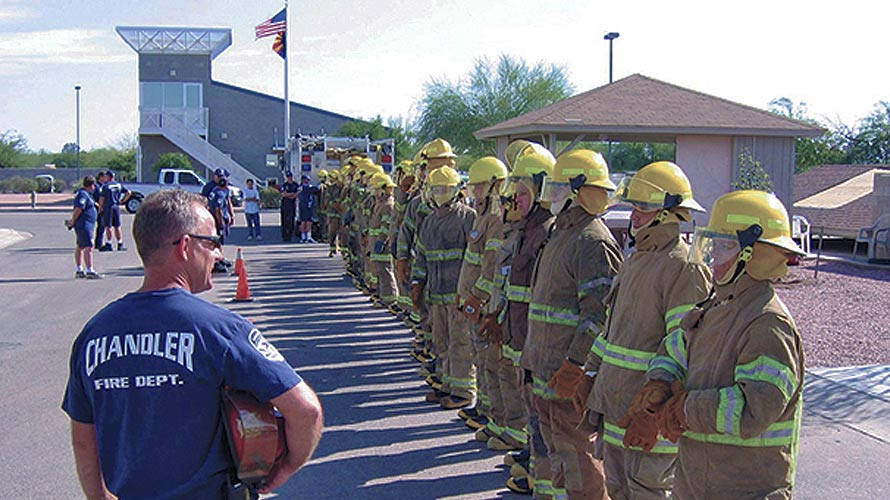 Chandler Fire Cadet Program