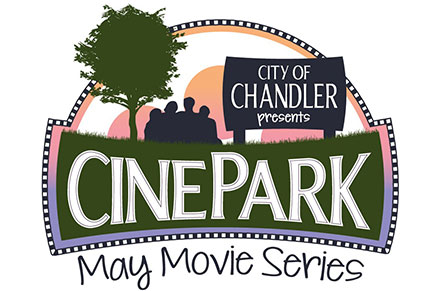 CinePark Movies in the Park Logo