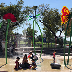 Desert Breeze Park Spray Pad