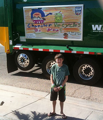 Trash Duty For Students With Special >> Recycling And Trash Education Outreach City Of Chandler