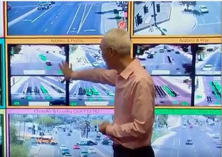 image from traffic timing video