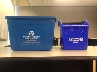 Recycling In-House Containers
