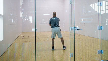 Racquetball at the Tumbleweed Recreation Center