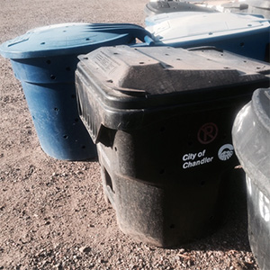 Reused Backyard Composters