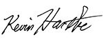 Mayor Kevin Hartke's Signature
