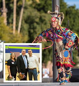 Mayor on the Move West Chandler with Indigenous Enterprise