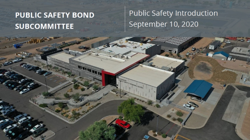 Public Safety Bond Subcommittee