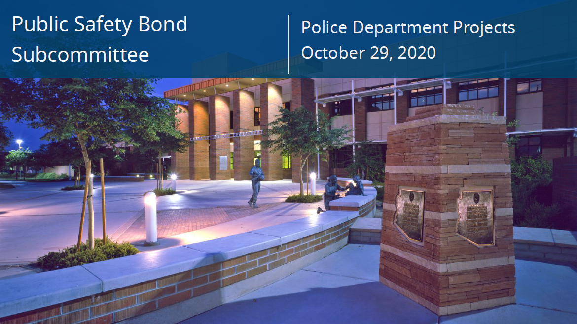 Public Safety Bond Projects