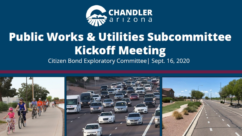Public Works and Utilities Subcommittee Kickoff