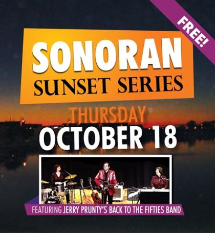 Sonoran Sunset Series – Jerry Prunty's Back To The Fifties Band