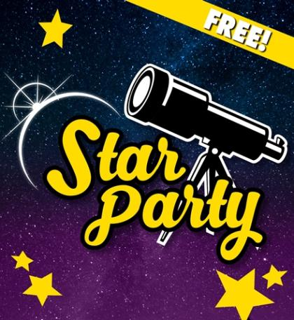 Star Party Event Banner