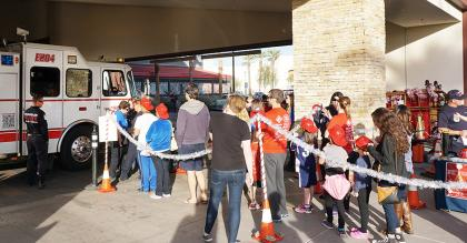 Chandler Fire Holiday toy drive