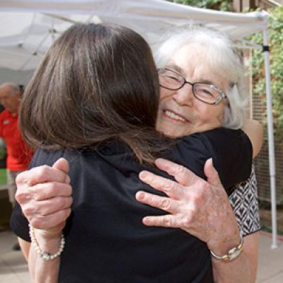 Chandler Senior Center Hug