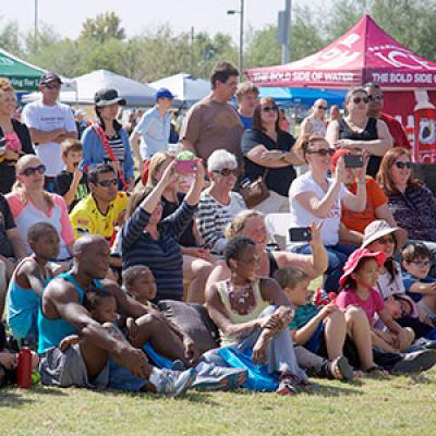 Day of Play Crowd