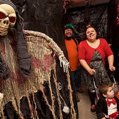 Halloween Spooktacular Family Haunted House