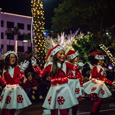 Parade of Lights Dancers