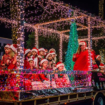 Parade of Lights Float