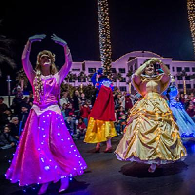 Parade of Lights Princesses