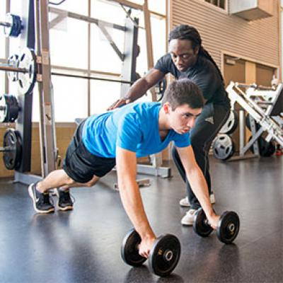 Personal Training Session at Tumbleweed Recreation Center