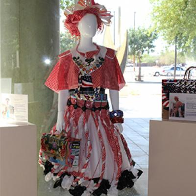 Trashion Fashion Entry Displayed in City Hall