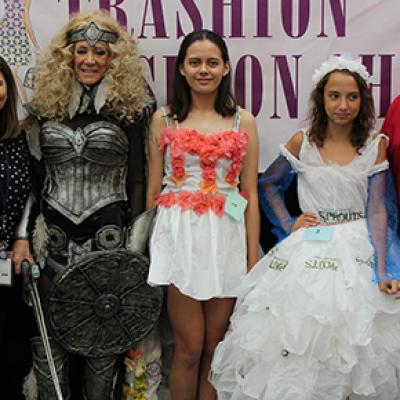 Trashion Fashion Show Participants