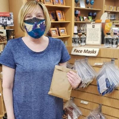 Retail Employees Wearing Masks