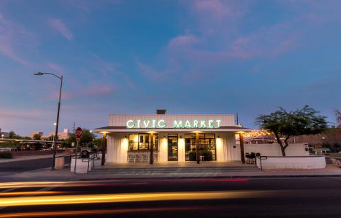 Civic Market and QuartHaus in Downtown Chandler