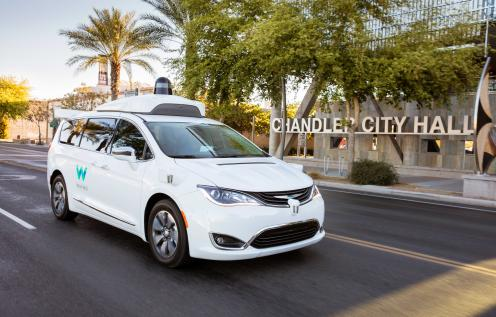 Waymo making its mark in Chandler with autonomous vehicle technology