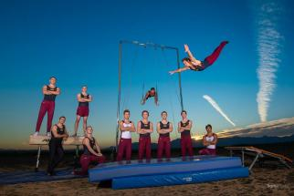 ASU Men's Gymnastics Team