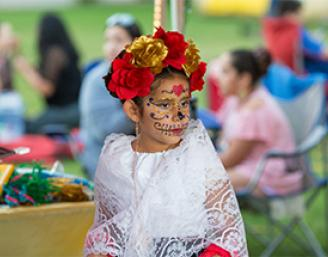 2018 Day of the Dead participant