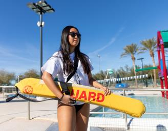 Female Lifeguard