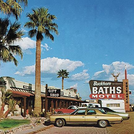 Buckhorn Baths in Mesa in 1974