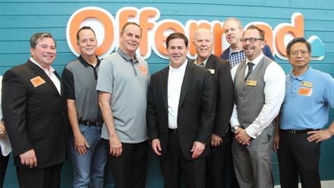 Chandler City Council with Governor Doug Ducey at Offerpad