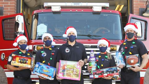 Chandler Fire Toy Drive 2020